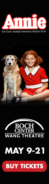 Annie at Boch Center Boston- Display Image