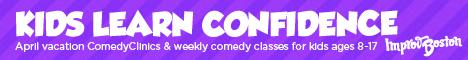 Improv Boston Comedy Clinics for Kids - Display Image