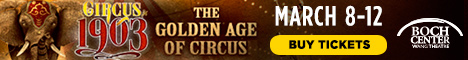 Circus 1903: The Golden Age of Circus Giveaway- Display Image
