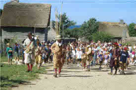 Thanksgiving Week at Plimoth Plantation