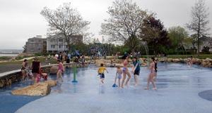 Nelson Park Splash Pad