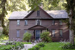 Louisa May Alcott's Orchard House - Home of the Alcotts