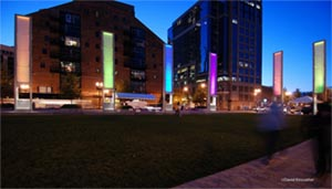 Winter Lights on the Greenway