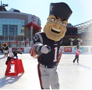 Winter Skate at Patriot Place