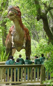 Zoorassic Park at Franklin Park Zoo