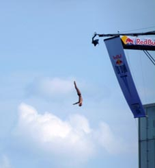 Cliff Diving at the ICA