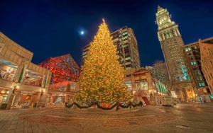 Faneuil Hall Tree Lighting