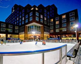 Ice Skating: The Charles Hotel