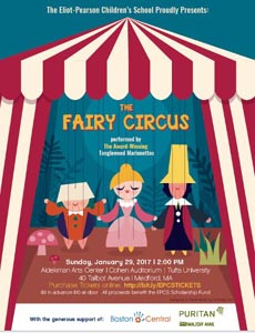 The Fairy Circus performed by Tanglewood Marionettes