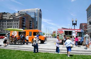 Greenway Food Trucks Daily Schedule