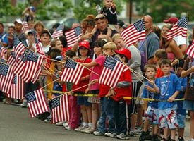 Quincy Flag Day Parade