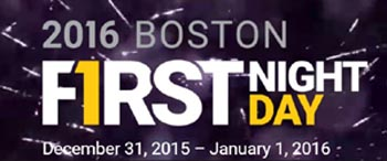 First Night Boston Celebration 2016