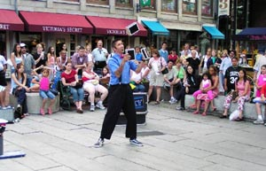 Faneuil Hall Street Theater Spring Showcase