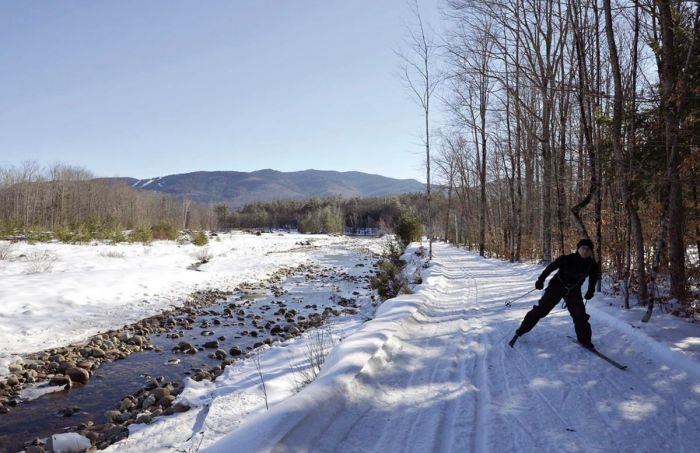 Cross Country Skiing Near Boston Bear Notch NH