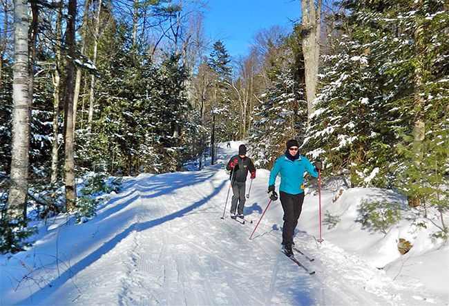 Cross Country Skiing Near Boston Mount Washington Valley