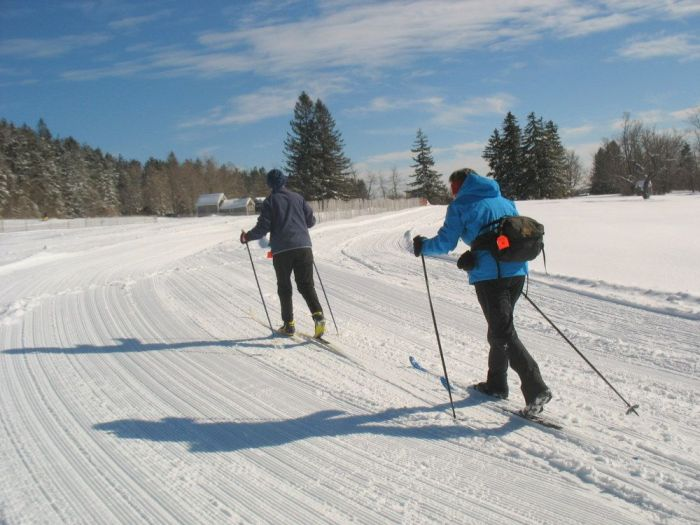 Cross Country Skiing Near Boston  Notchview Trustees
