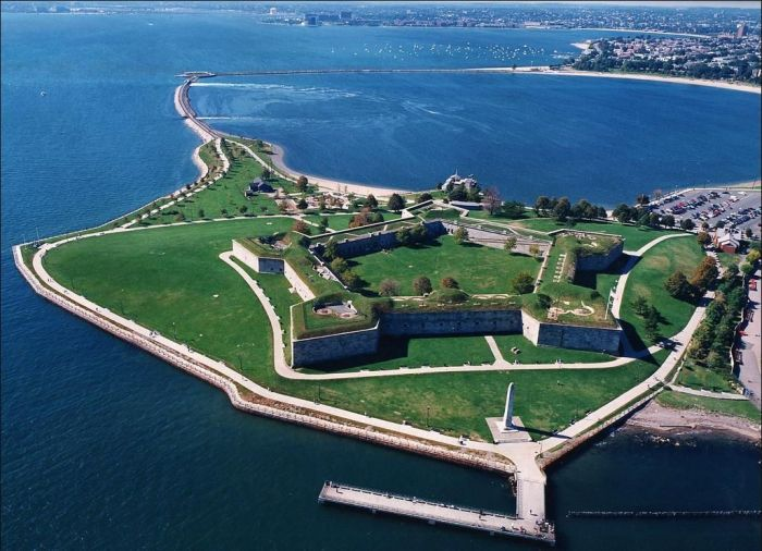 Castle Island Fort Independence Boston