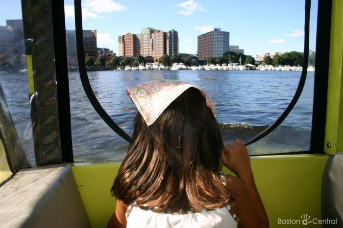 Boston Duck Tours with Kids