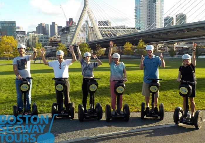Boston Segway Tours Zakim Bridge