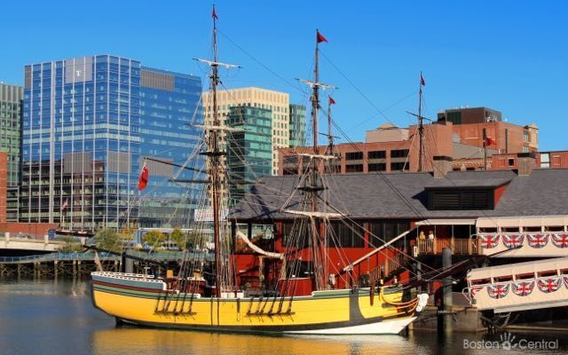 Boston Tea Party Museum Ship
