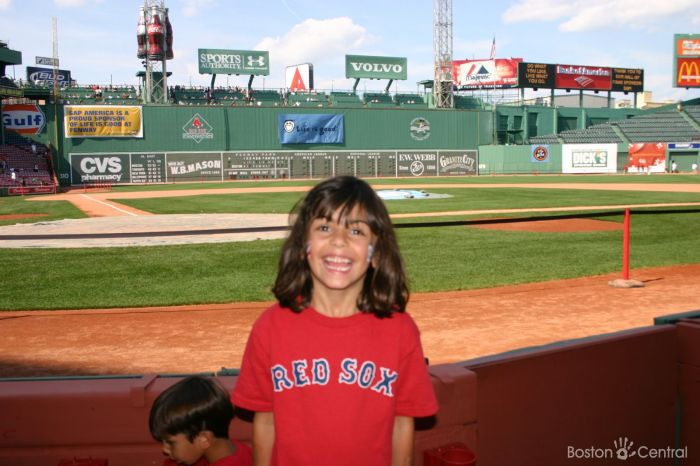 Fenway Park Tours Child