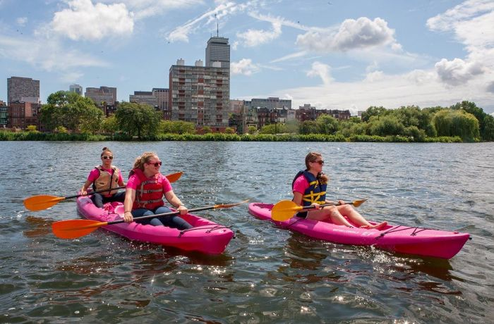 Boston Kayaking with Kids Charles River