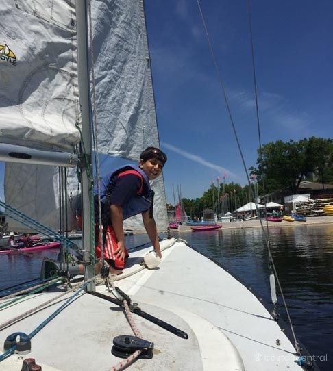 Boston Sailing with Kids