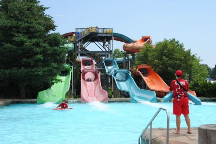 Boston Area Outdoor Waterparks