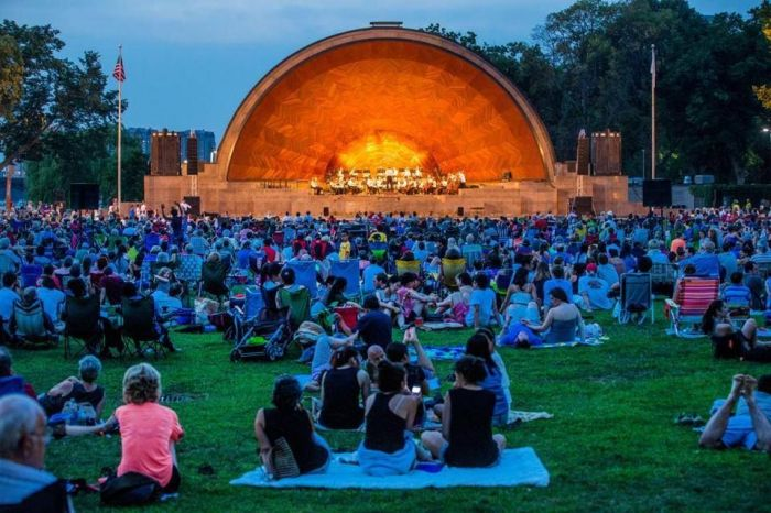 Summer Concerts in Boston at the Hatch Shell