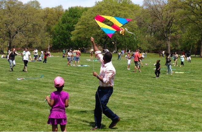 Boston Kite and Bike Festival Franklin Park