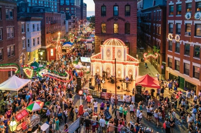 North End Boston Saint Anthony's Feast