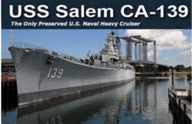 uss salem at the naval shipbuilding museum photo