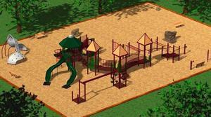 concord playground  spray fountain photo