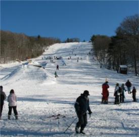 blue hills ski area photo