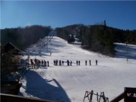 bousquets ski  tubing mountain photo