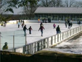 larz anderson kirrane ice skating rink photo