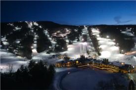 wachusett mountain skiing photo