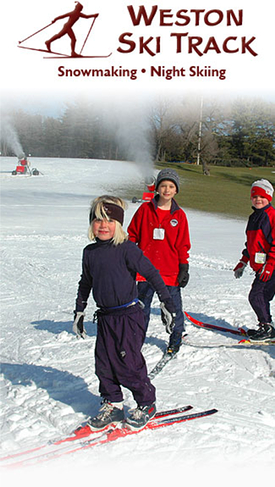 weston ski track - cross country photo