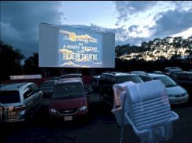 wellfleet drive-in theatre photo