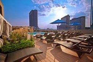 colonnade rooftop pool photo