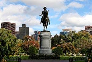 boston public garden photo
