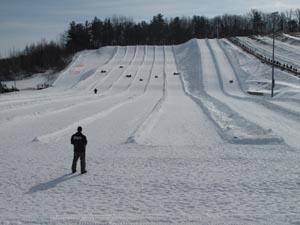 amesbury sports park snowtubing photo