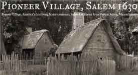 salem 1630 pioneer village photo