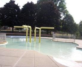 artesani park  wading pool photo