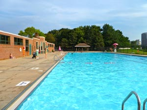 Veterans Memorial Swimming and Wading Pool (Magazine Beach)