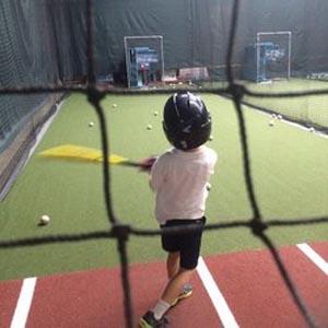 the hit zone  indoor baseball  softball photo
