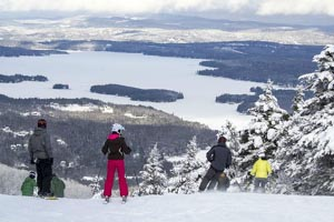 mount sunapee ski resort photo