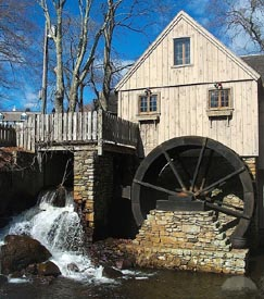 jenney grist mill photo