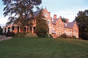 blithewold mansion gardens  arboretum photo