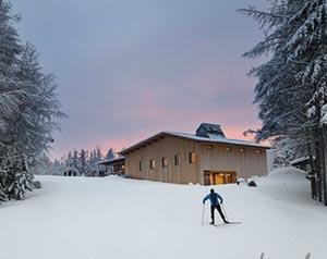craftsbury outdoor cross country ski center photo